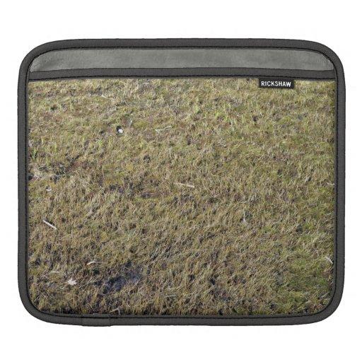 Grassy Ground Texture iPad Sleeves