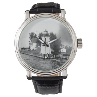 Grassy Island Lighthouse Wristwatch