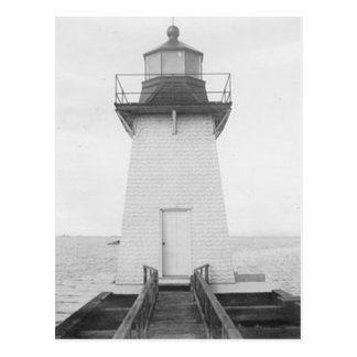 Grassy Island Range Lighthouse Postcard
