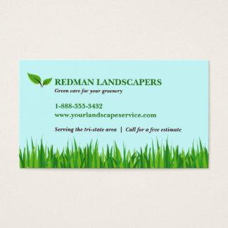 Grassy Landscape Business Card