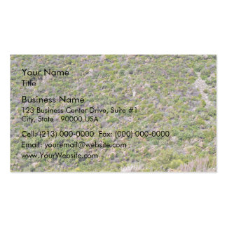 Grassy Mountain landscape Business Card Templates