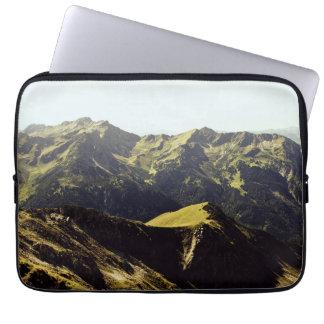 Grassy Mountain Landscape Laptop Sleeve