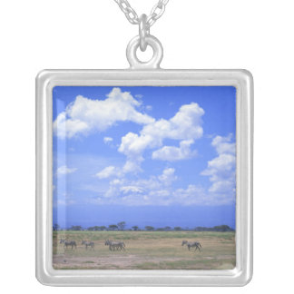 Grassy Plain Silver Plated Necklace