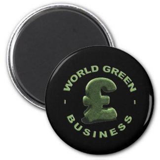 Grassy Pound symbol Magnet