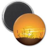 Grassy Sunrise - Magnet