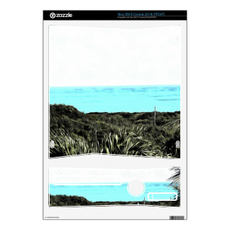 Grassy terrain leading to the water decal for xbox 360 s