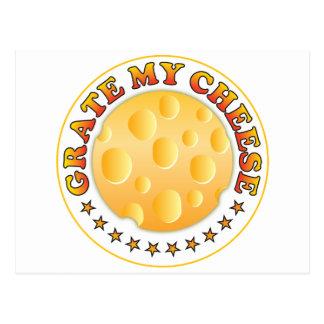 Grate Cheese Postcard
