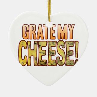 Grate My Blue Cheese Ceramic Ornament