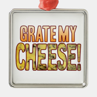 Grate My Blue Cheese Metal Ornament