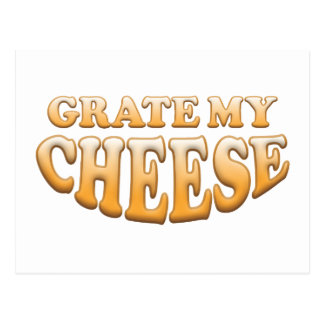 Grate My Cheese Postcard