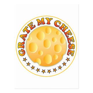 Grate My Cheese R Postcard