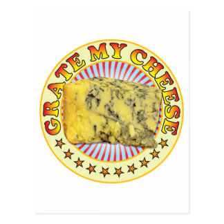 Grate My Cheese v2 Postcard