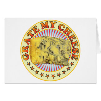 Grate My Cheese v3 Greeting Card