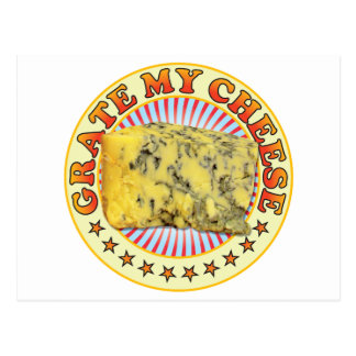 Grate My Cheese v3 Postcard