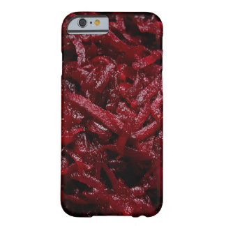 Grated red beets | barely there iPhone 6 case