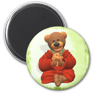 Grateful Buddha Bear Magnet