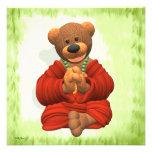 Grateful Buddha Bear Personalized Announcements