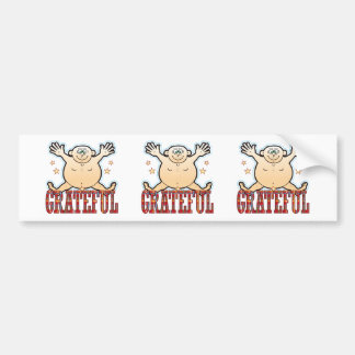 Grateful Fat Man Bumper Sticker