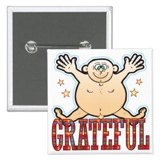 Grateful Fat Man Button