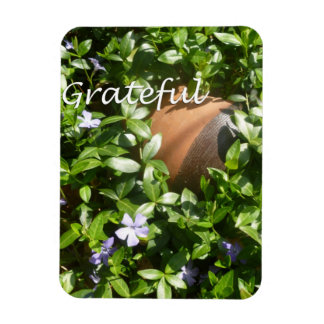 Grateful garden magnet