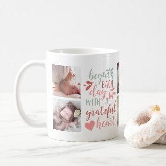 Grateful Heart Photo Mug