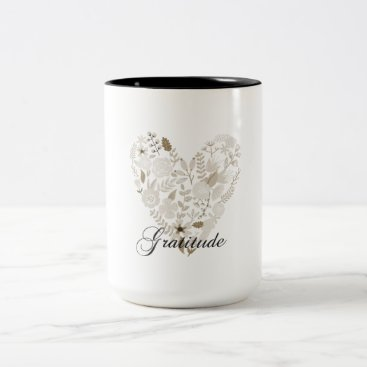 peacefuldreams Grateful Heart Two-Tone Coffee Mug