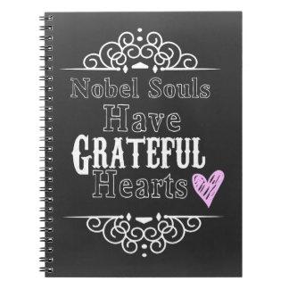 Grateful Hearts Notebook