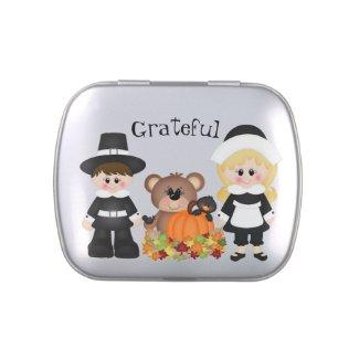 Grateful Pilgrims Candy Tin