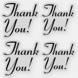 "[ Thumbnail: Grateful ""Thank You!"" Stickers ]"