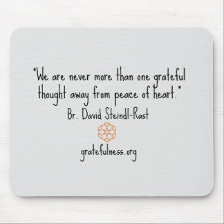 """Grateful Thought"" Mousepad"