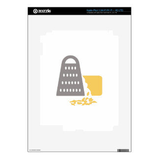 Grating Cheese Decal For iPad 3