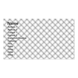 Grating pattern Double-Sided standard business cards (Pack of 100)