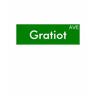 Gratiot Avenue Shirt shirt