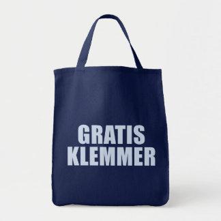 Gratis Klemmer Tote Bag