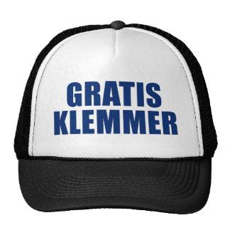 Gratis Klemmer Trucker Hat