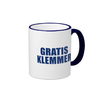 Gratis Klemmer Ringer Coffee Mug