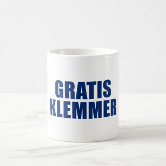 Gratis Klemmer Classic White Coffee Mug