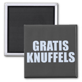 Gratis Knuffels 2 Inch Square Magnet