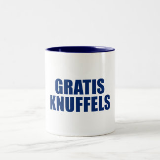Gratis Knuffels Two-Tone Coffee Mug