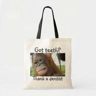 Gratitud del dentista bolsa