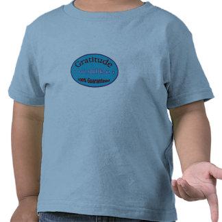 Gratitud el 100% garantizado camisetas