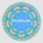 Gratitud (pegatina de la virtud)