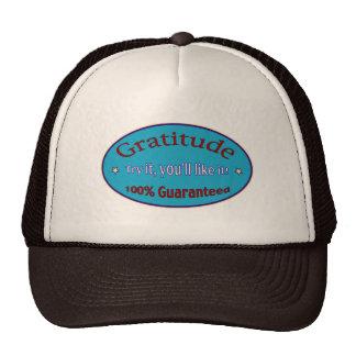 Gratitude 100% Guaranteed Trucker Hat