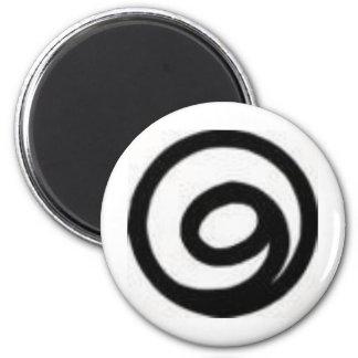 gratitude 2 inch round magnet
