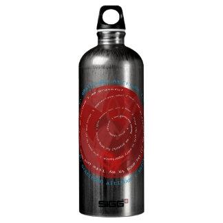 Gratitude Attitude Aluminum Water Bottle