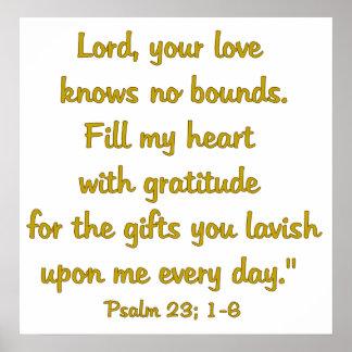 Gratitude Attitude Poster