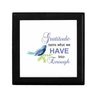 Gratitude Blue Bird Gift Box