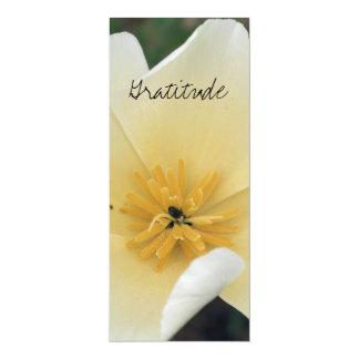 Gratitude bookmark 4x9.25 paper invitation card