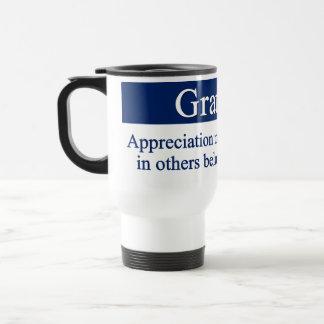 Gratitude brings out the best travel mug
