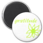 gratitude flower magnets